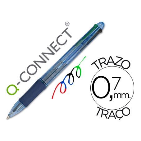 Q-CONNECT 4 Colors Ballpoint Pen