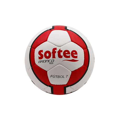 Balón de Futbol 7 SOFTEE Bronco Red 9386cdeb67756