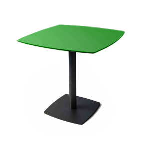 Hostelry Table MARIQUITA 482 Black - Phenolic 80x80