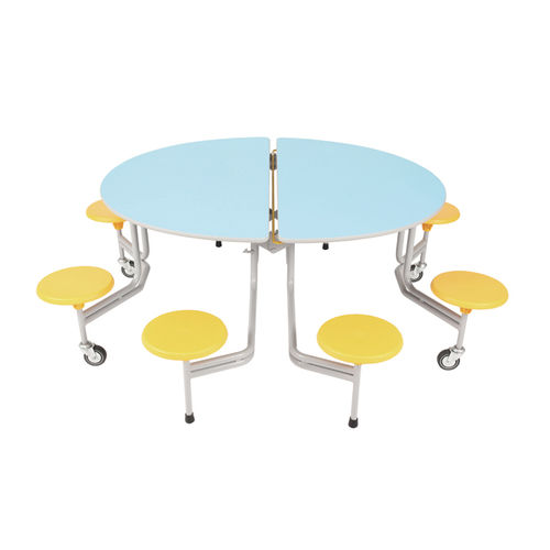 SICO Oval Graduate folding mobile table