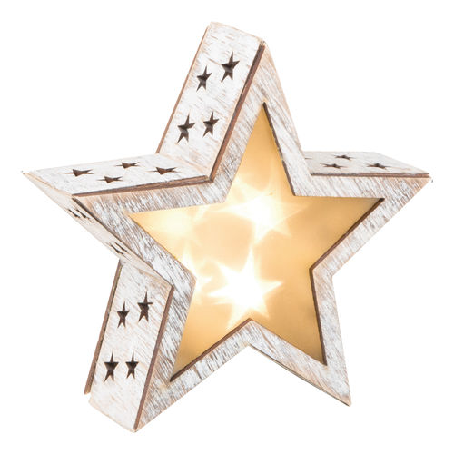 Shabby Chic 3D Small Star Lamp