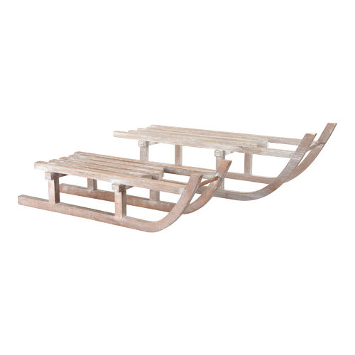 Wooden Decoration Sledge